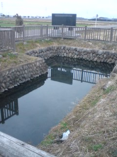 羅釜の湧水